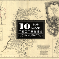 Vintage map textures by Innuend