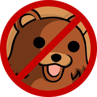 Forbidden to pedobear ! by BlAg001