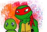 Mikey and Raph :CE: by PurpleRings