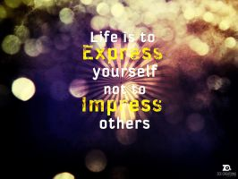 Express Quote by ZeeCreations