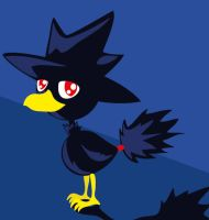 Murkrow by PetiteLaSouris