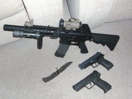 Custom M4 and other weapons 2 by Poynton90