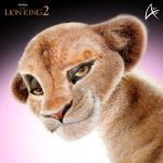 Adult Kiara Portrait (COMMISSION)- The Lion King 2 by Andersiano