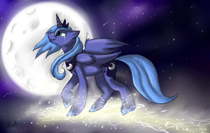 Luna by KittyIsAWolf