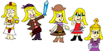 PvZ 2 Outfits! by CharmeleonGirl46