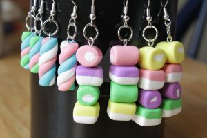 Marshmallow and dolly mixtures by claremanson