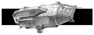 Sub-munitions fighter by JerryBoucher