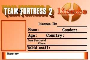 Team Fortress2 Licence - Blank by DogeBuild