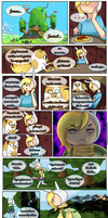 Danger! dreams fire~ FanComic page 6. by NarukoMegpoid