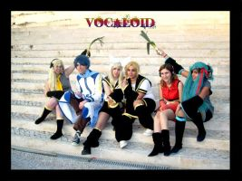Photoshoot VI - Vocaloid group by deerly-hime