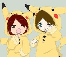 Pikachus by Gaaralovesme3