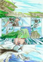Emerald cliffs by Ellana01