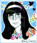 Karen Carpenter by Demachic