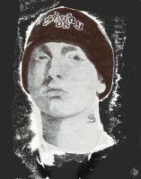 Eminem portrait by ArrtMan