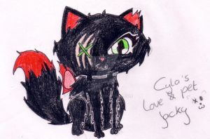 Cyla's new love and pet: Jacky by ezzliej