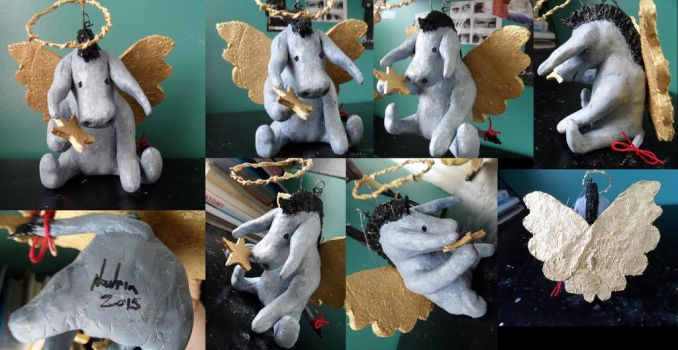 Winnie the pooh classic eeyore sculpt by Navrin