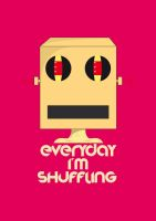 Lmfao Robot everyday i'm shuffling by KhaledElkady