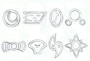 Badges sketch by mssingno