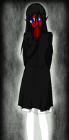 Grim Tales Oc- Hazel (demon form) by Darkemerald4578
