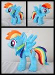 14 Inch Rainbow Dash by Lykaios-Avery