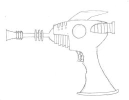 Alien Blaster Sketch by L9OBL