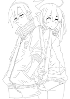 Soul and maka fanart by Souuleaater