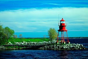 Small Alpena Lighthouse by S-H-Photography