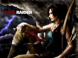 Lara Croft Tomb Raider Reborn Contest Entry 2 by Abremson