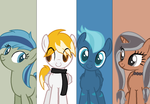Commission : Friends group by Dark--Light000
