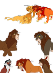 Kovu and Kiara sons by digimonfrontier77