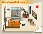 NaruSaku Bedroom by halogirl237