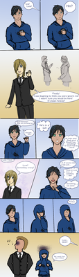 [KHR OC] Sketchy stupid Luca comic by Plantress