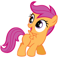 Scootaloo Vector by Pony2Vector