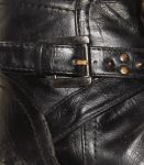 boot of shiny leather by nonyeB