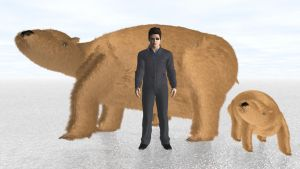 A Guy and his Giant Wombats by ManyardButler