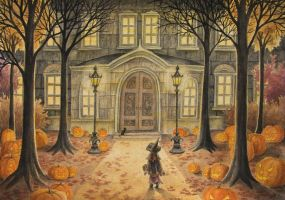 All Hallows' Eve- Lhox by childrensillustrator