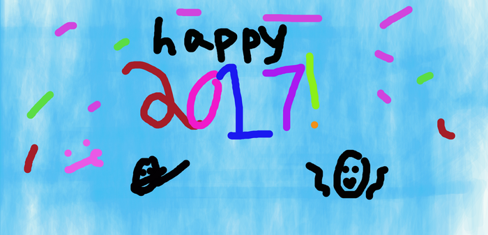 2017!!! by Creeperdrawing