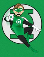 Green Lantern Color by AlanSchell