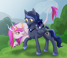 Royal Cousins by SubduedMoon