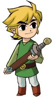 Minish Cap Link Coloured by GeoFlame
