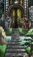 Wolf Gate by fangfirebird100