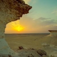 Qatar - Zekreet - Sunset by GiardQatar