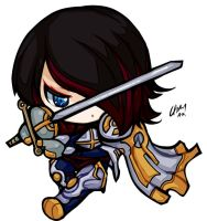 ChibiLeague - Fiora by HelloATK