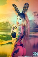 Julie Black Bunny by recipeforhaight