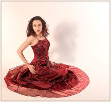 The red dress by fb101