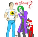 Why So Serious by artlekina