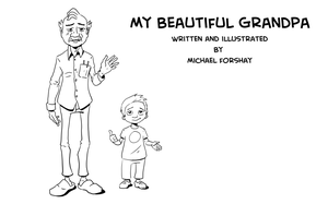 My beautiful grandpa by sorryface