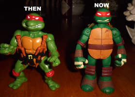 RAPHAEL:THEN AND NOW by TMNTFAN85