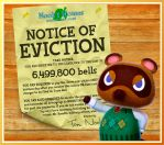 NOTICE OF EVICTION by ever-so-excited