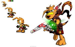 Ty the Tasmanian Tiger by FusionKirby
